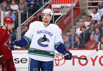 Daniel Sedin Will Miss Game One with a Concussion