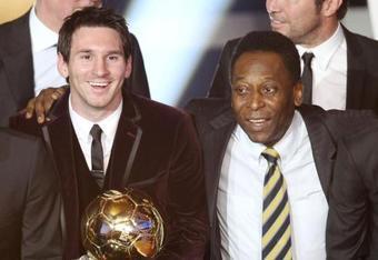 Messi and Pelé