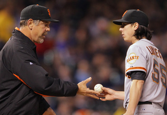 If Tim Lincecum continues to struggle, can Giants manager Bruce Bochy keep putting him on the mound?