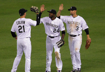 The Rockies were first N.L. team to reach 10 wins last season