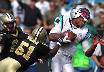 The Saints allegedly targeted rookie quarterback Cam Newton. They were charged with three roughing the passer penalties on Newton in 2011.