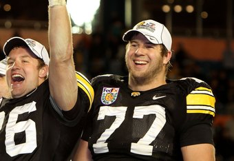Iowa OT Riley Reiff could be the pick if the Jaguars can't make a trade at number seven.