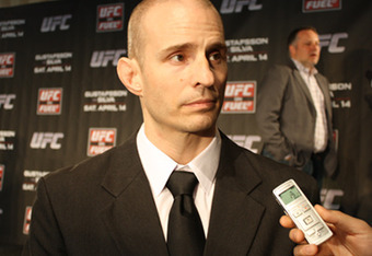 August Wallén, president of the IMMAF (photo from MMAjunkie.com)