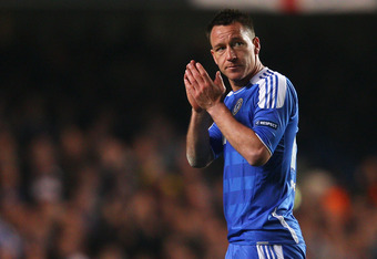 John Terry and Chelsea host Barcelona on Wednesday in Leg 1 of the UEFA Champions League semifinals.