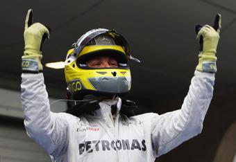 F-1 driver Nico Rosberg