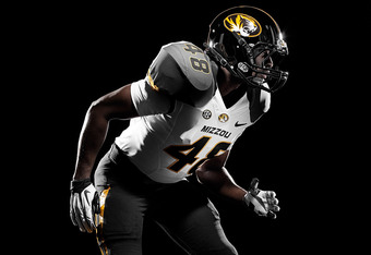 New Missouri Home Uniform / Photo Credit: The University of Missouri