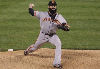 Brian Wilson pitched in only six games during August and September last season.