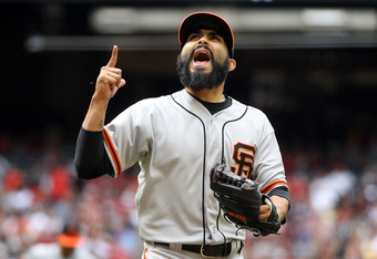 Sergio Romo compiled a 1.50 ERA in 65 games for the Giants last year.