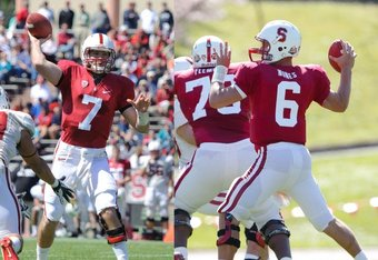 Nottingham (7) and Nunes (6): to be continued (Photo by Stanford Football)