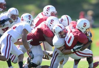 Seale (30) (Photo by Stanford Football)