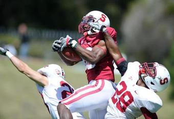 Ty Montgomery: star in the making (Photo by Stanford Football)