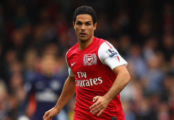 Mikel Arteta's injury may have contributed to the Wigan goals.