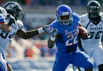 Boise State's Doug Martin is Another Option for the Rams