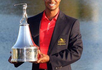 Tiger got his first win in over three years at the Arnold Palmer Invitational