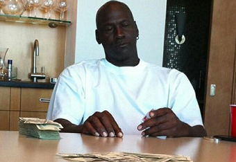 MJ has six rings and is a notorious gambler.