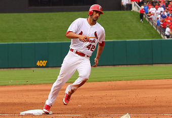 Matt Carpenter went 4-for-4 with five RBI last Sunday.