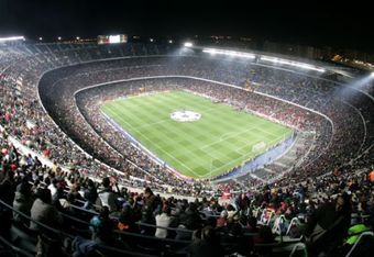 The Camp Nou awaits...