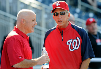 Mike Rizzo and Davey Johnson will not change Stephen Strasburg's schedule, even if it costs the Nationals a playoff spot.