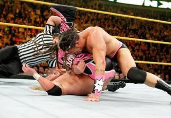 Tyler Reks vs. Curt Hawkins