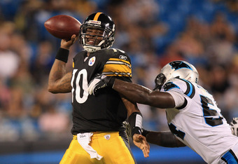 Dennis Dixon brings with him insider information about the Steelers' offense