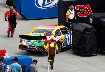 The 2012 season has been a struggle for Kyle Busch.