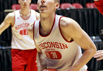 Jarrod Uthoff redshirted his freshman season at Wisconsin after being named Iowa's Mr. Basketball as a high school senior in 2011.