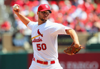 Adam Wainwright has a 9.88 ERA after his first three starts this season.