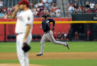 Freddie Freeman lead the Braves with 11 RBI this season.