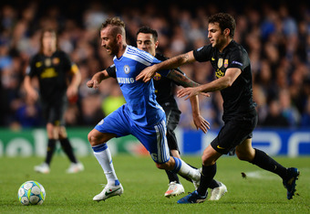 Raul Miereles may see playing time again for Chelsea after his performance in the Blues 1-0 victory in Leg 1 in west London.