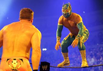 Ted DiBiase takes on Sin Cara on SmackDown.