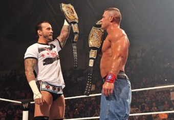 Punk returns after Cena regained the WWE title