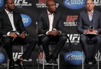 There are few in history that can match the dominance that Anderson Silva, Georges St-Pierre and Jon Jones have shown inside the Octagon.