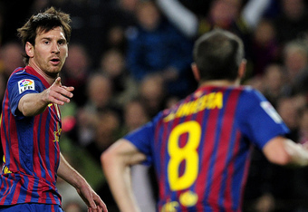 Messi and Iniesta need to lead the charge.