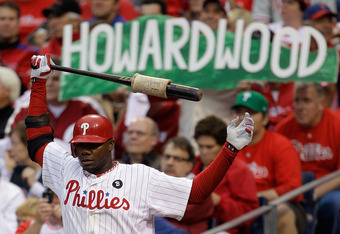 Howard's RBI production and presence in the Phillies' lineup play a large roles in the team's offensive success.