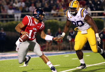 LSU's Michael Brockers is a mammoth run-stopper that could develop into one of the game's best.