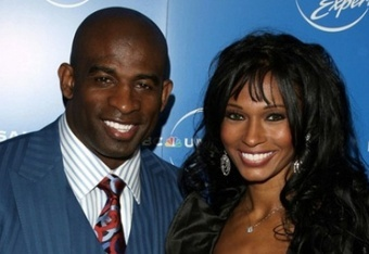 Deion and Pilar Sanders; Photo Credit: Vibe.com