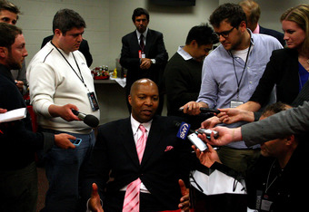 Derrick Coleman: Poster boy for overpaid, immature, overrated athletes everywhere.