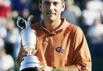 PGA Tour Rookie Ben Curtis won the 2003 British Open
