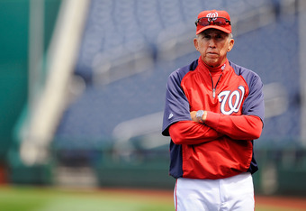 Nationals manager Davey Johnson contemplates a bleak future without third baseman Ryan Zimmerman.