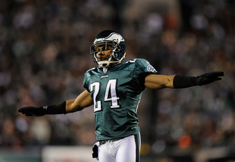 With Asante Samuel out of the way, Nnamdi Asomugha is now free to be the shut down corner he was in Oakland.