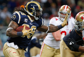 Are the Rams really thinking of ditching Steven Jackson and moving up for Trent Richardson? It doesn't seem likely.