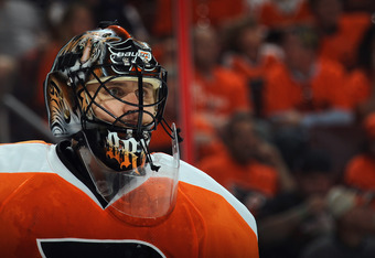 Bryzgalov went 10-3 in March with a .947 save percentage, 1.43 goals-against average and four shutouts.