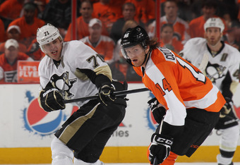 Couturier shows signs of being a dominant two-way forward.
