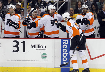 Jagr is helping the Flyers through scoring and leadership.