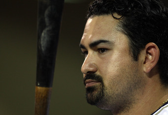 If the Padres had moved in the fences at Petco Park, would Adrian Gonzalez still be with them??