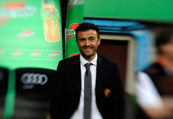 Luis Enrique coached many of today's stars in the club's B team