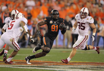 Blackmon is usually considered the best player in college, putting up massive numbers in his collegiate career.