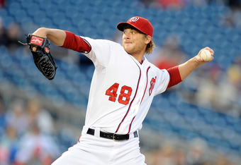 Ross Detwiler has been outstanding as the Nationals' fifth starting pitcher.