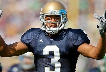 Notre Dame WR Michael Floyd
