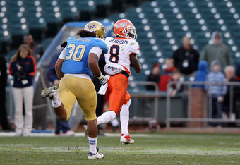 A.J. Jenkins scores against UCLA
